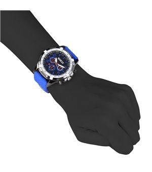 Sparco Herren Uhren Blau -...