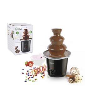 Schokoladenbrunnen Kiwi KG-5806 200 g 90W Schwarz