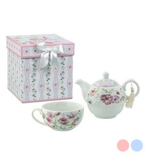 Teekannenspiel 116144 Blomster Weiß Rosa