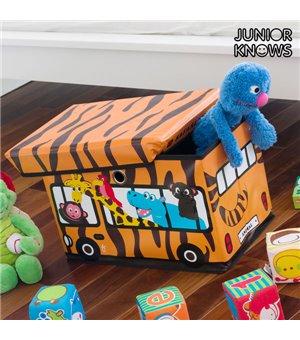 Junior Knows Bus Faltbare Spielkiste