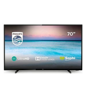 "Smart TV Philips 70PUS6504 70"" 4K Ultra HD LED WiFi Schwarz"