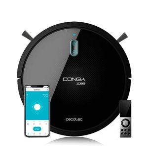 Roboterstaubsauger Cecotec Conga 1099 Connected 1400 Pa 64 dB WiFi Schwarz