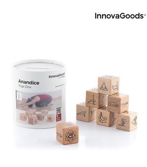 Yoga Würfelspiel Anandice InnovaGoods 7 Stücke
