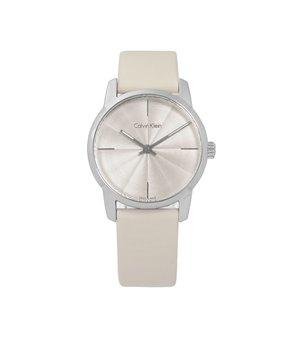 Calvin Klein Damen Uhren Weiß - K2G23