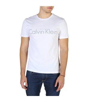 Calvin Klein Herren T-Shirts Weiß - K10K100410