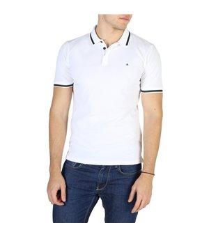 Calvin Klein Herren Polo Weiß - J3IJ303821