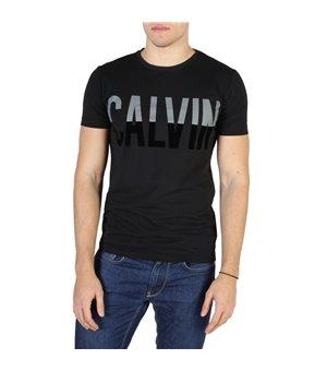Calvin Klein Herren T-Shirts Schwarz - J30J300602