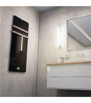 Elektrischer Handtuchhalter Cecotec Ready Warm 9890 LED 20 m² 850W Schwarz