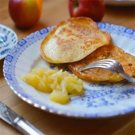 Pfannkuchen mit Zimt & Zucker