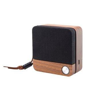 Drahtlose Bluetooth Lautsprecher Eco Speak KSIX 400 mAh 3.5W Holz