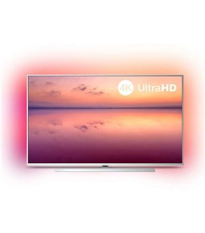 "Smart TV Philips 55PUS6804 55"" 4K Ultra HD LED WiFi Silberfarben"