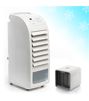 InnovaGoods Tragbarer Verdunstungskühler + 1 Miniverdunstungskühler GRATIS