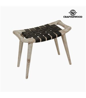 Barhocker Mindiholz Haut (60 x 35 x 45 cm) - Let's Deco Kollektion by Craftenwood