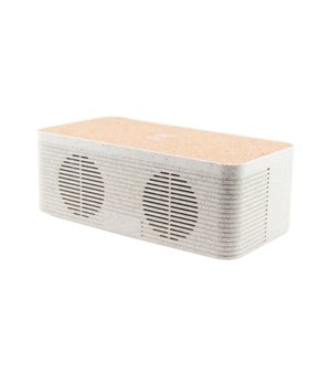 Bluetooth-Lautsprecher mit kabellosem Qi-Ladegerät KSIX Eco-Friendly 1200 mAh 5W