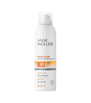 Sonnenschutzmaske Non Stop Anne Möller Spf 30 (200 ml)
