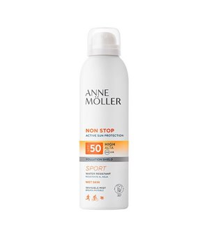 Sonnenschutzmaske Non Stop Anne Möller Spf 50 (200 ml)