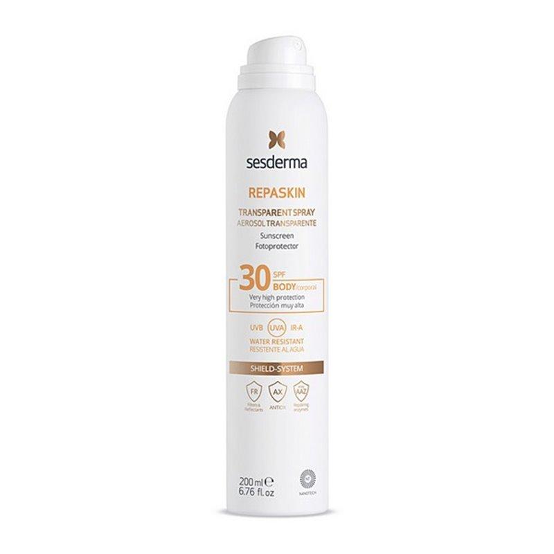 Sonnenschutzspray Repaskin Corporal Sesderma Spf 30 (200 ml)