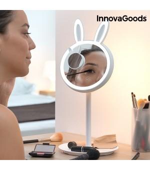 InnovaGoods Mirrobbit 2 in 1 LED Schminkspiegel mit Lampe