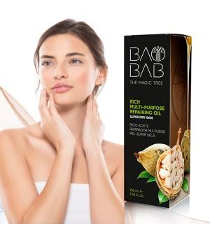 Baobab Mehrzweck-Pflegeöl zur Regeneration für sehr trockene Haut