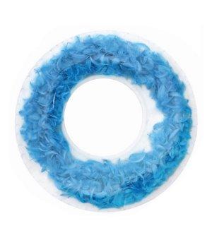 Aufblasbare Schwimmhilfe Feathers Blau (ø 105 cm)
