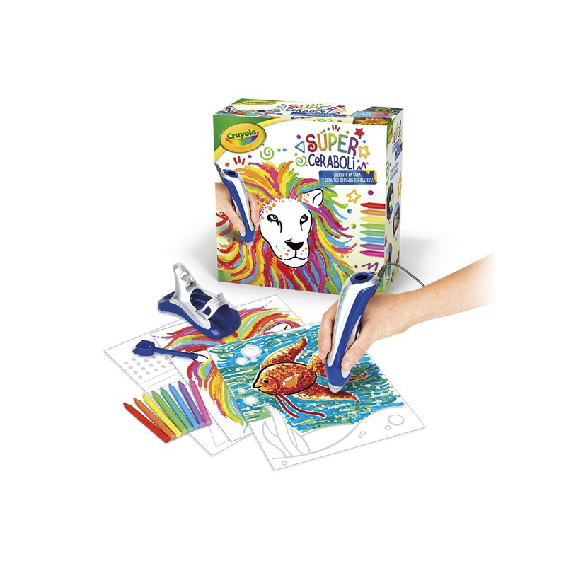 Karten zum Zeichnen Súper Ceraboli Crayola