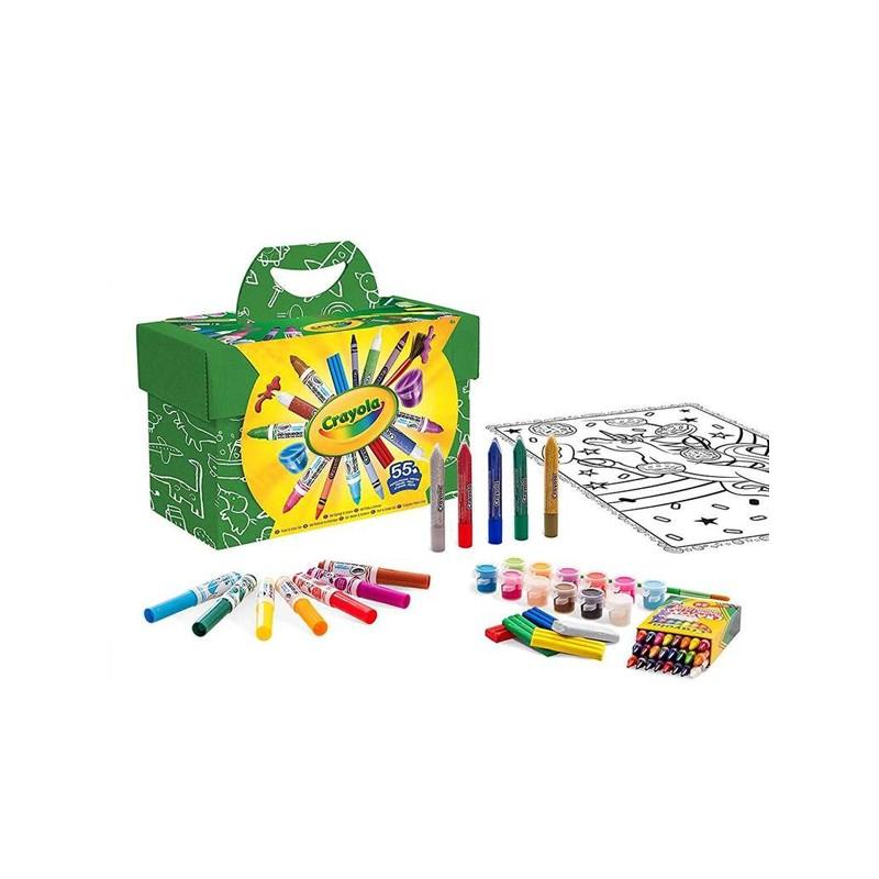 Malerei-Set Pinta Y Colorea Crayola (55 pcs)