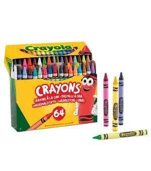 Wachstifte bunt Crayola (64 pcs)