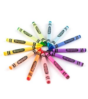 Wachstifte bunt Crayola (64...