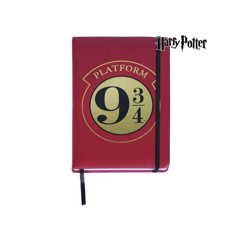 Notizbuch mit Lesezeichen Harry Potter A5 Burgunderrot