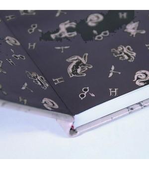 Notizbuch mit Lesezeichen Harry Potter A5 Braun