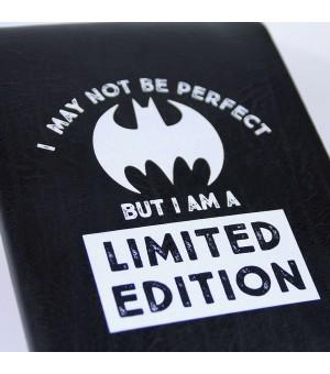 Notizbuch mit Lesezeichen Batman A5 Schwarz