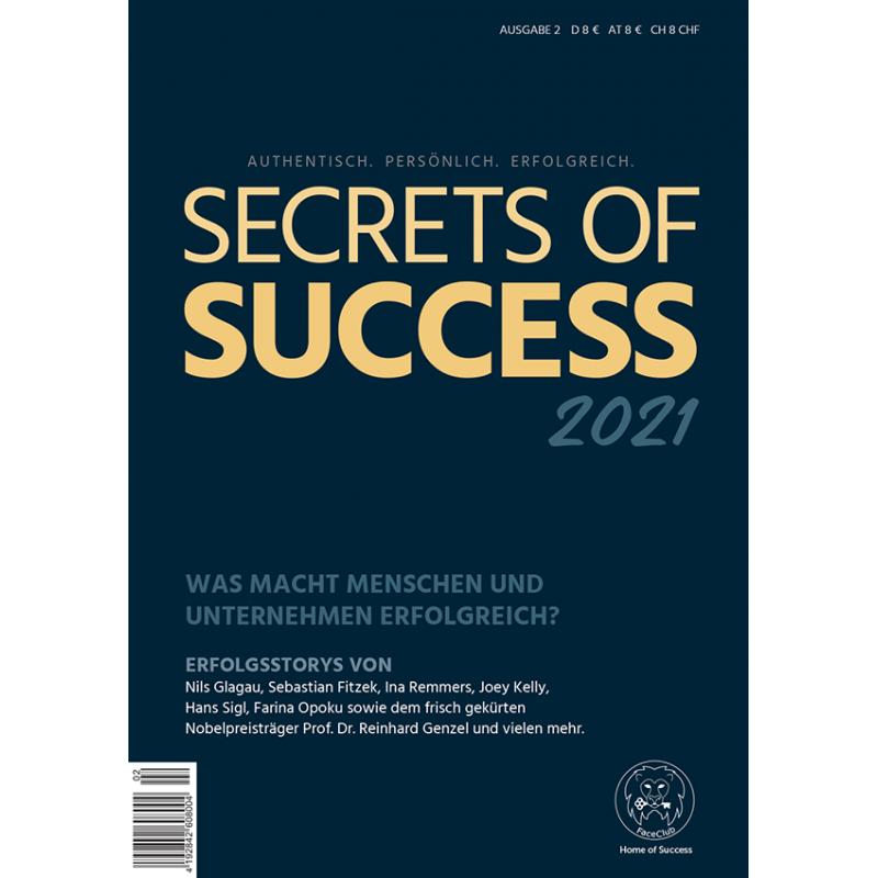 Vorbestellung SECRETS OF SUCCESS - 2021