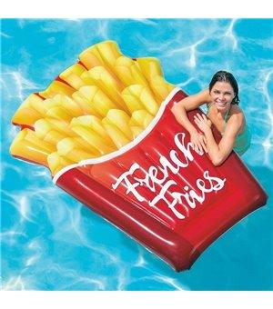 Luftmatratze French Fries Intex (175 X 132 cm)