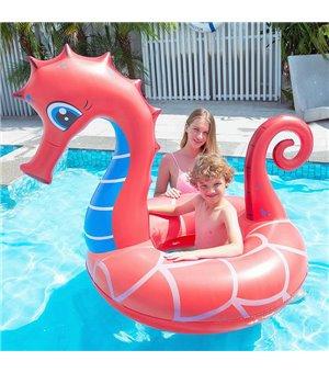 Aufblasbare Schwimmhilfe Seahorse (126 x 110 x 107  cm)