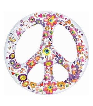 Luftmatratze Peace (146 x 149 x 27  cm)