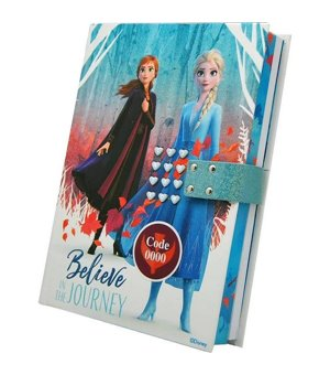 Tagebuch Frozen (21 x 15,5 x 3 cm)