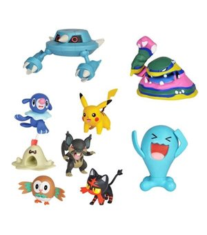 Actionfiguren Pokemon Combat Bizak