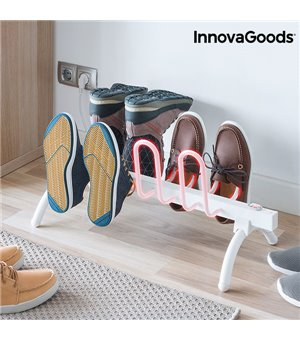 InnovaGoods Beheizter Schuhständer 80W Weiß