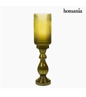 Vase (15 x 15 x 61 cm) - Pure Crystal Deco Kollektion by Homania