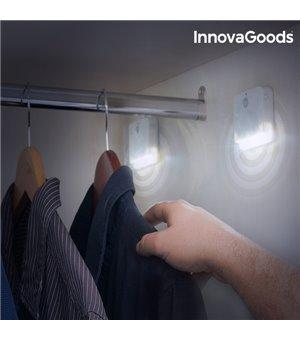InnovaGoods LED Leuchte mit Bewegungsmelder (2 Stück)