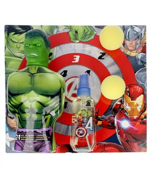 Set mit Kinderparfum Avengers Hulk Cartoon EDT (3 pcs)