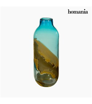 Vase Kristall (12 x 12 x 33 cm) - Pure Crystal Deco Kollektion by Homania