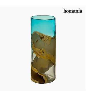 Vase Kristall (12 x 12 x 30 cm) - Pure Crystal Deco Kollektion by Homania