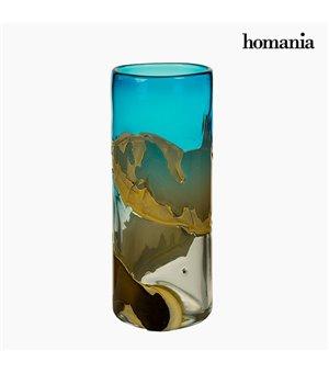 Vase Kristall (14 x 14 x 35 cm) - Pure Crystal Deco Kollektion by Homania