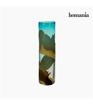 Vase Kristall (12 x 12 x 45 cm) - Pure Crystal Deco Kollektion by Homania