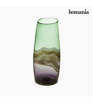 Vase Kristall (17 x 17 x 36 cm) - Pure Crystal Deco Kollektion by Homania