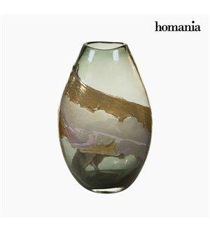 Vase Kristall (23 x 15 x 35 cm) - Pure Crystal Deco Kollektion by Homania