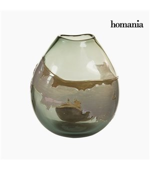 Vase Kristall (24 x 15 x 26 cm) - Pure Crystal Deco Kollektion by Homania