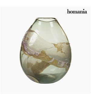 Vase Kristall (27 x 17 x 31 cm) - Pure Crystal Deco Kollektion by Homania