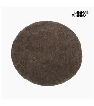 Teppich Acryl Braun (90 x 90 x 3 cm) by Loom In Bloom